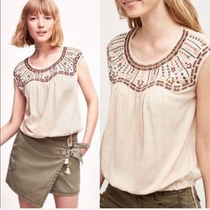 Anthropologie | Akemi & Kin Mirabelle Top Small